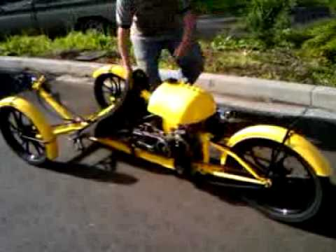 oh yea --- My Human Petrol Tadpole Recumbent Trike