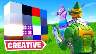 Welcome to Fortnite's *NEW* Creative Mode (Exclusive Gameplay)