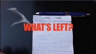 Making a List of What's Left | 1967 VW Beetle Restoration