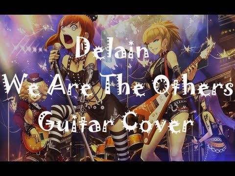 Delain-We Are The Others (Guitar cover) (EpicMetalCovers)