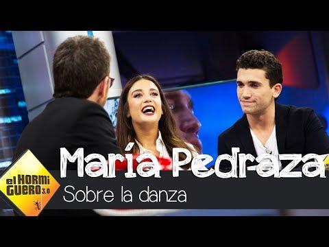 María Pedraza desvela cuál es la parte más dura de la danza clásica - El Hormiguero 3.0