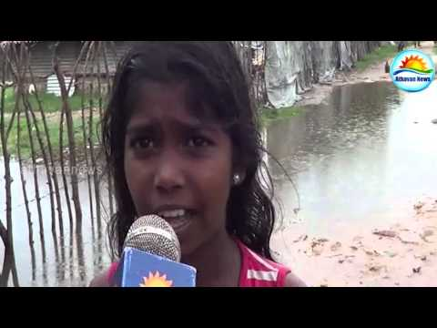 Risk of displaced people in Jaffna continued to dump rain!
