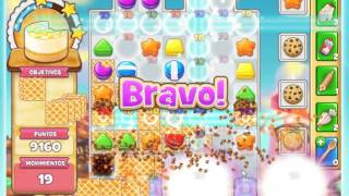 Cookie Jam - LEVEL 1.355 -- ( No booster ) GAMES