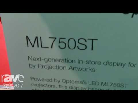 ISE 2017: DisplayMapper Talks About ML750ST Display Mapper