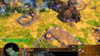 The Battle of Morristown - Age of Empires 3 The Warchiefs - Act 1 Mission 7 - Hard