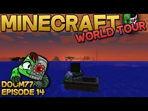7 Days — The Minecraft World Tour — S4E014 | Docm77