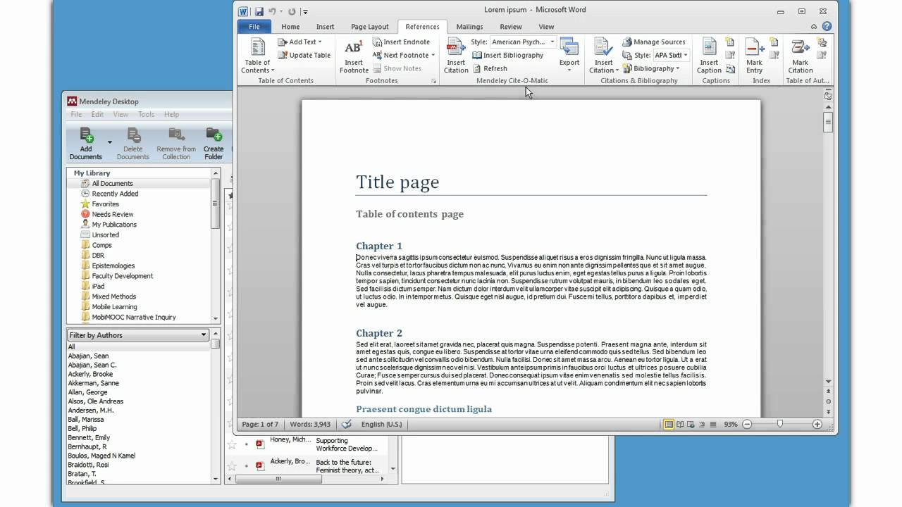 mendeley how to search for duplicates
