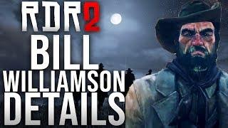 Red Dead Redemption 2 - Bill Williamson Details!