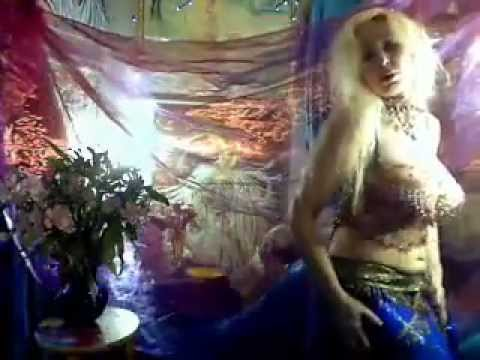 Sexy Slow Belly Dance Love Nirvana.beauty,ladykashmir,blond,goddess,deniz,c,studio, video
