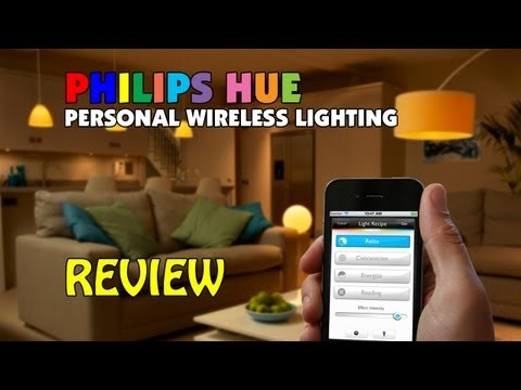 philips hue wireless lighting review tutorial how to. Black Bedroom Furniture Sets. Home Design Ideas