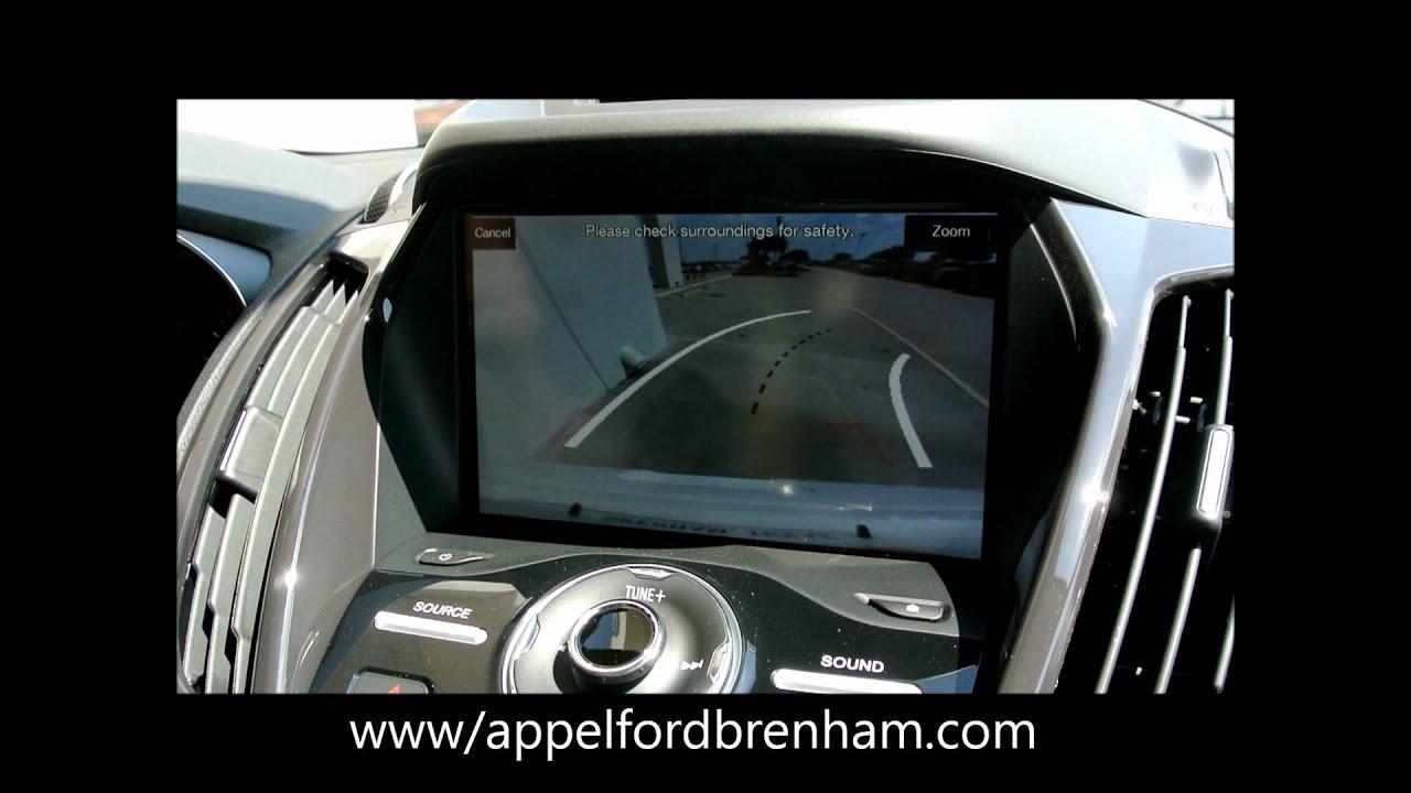 2013 Ford Escape Rear View