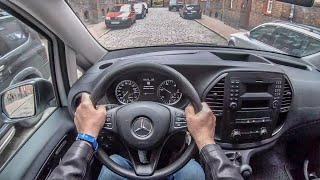 Mercedes Vito Furgon | 4K POV Test Drive #207 Joe Black