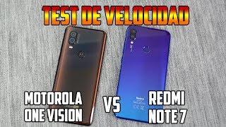 Motorola One Vision Vs Redmi Note 7   Test de Velocidad y Rendimiento   Tecnocat