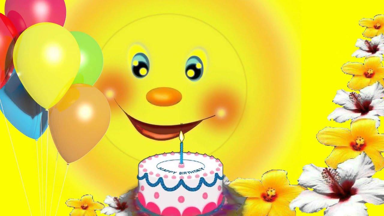 Клип поздравления мальчика с днем рождения