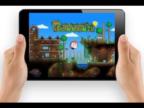 Terraria iOS Review Gamplay w/ Walkthrough & Commentary