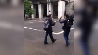 Man Pulls Gun on Black Lives Matter Portland Revolutionaries