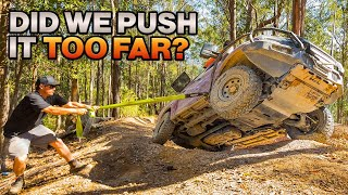 SHAUNO'S NEVER BEEN SO SCARED – Coffs Harbour vs. 4WD Action – who wins?