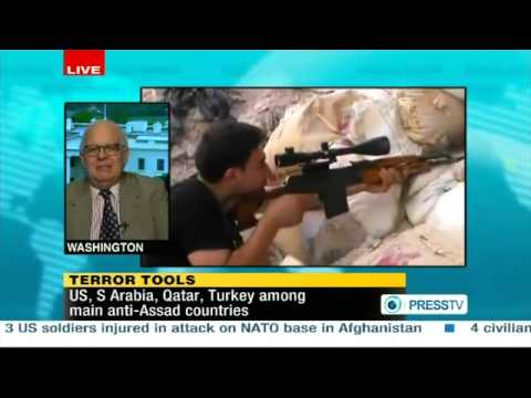 Tarpley: Syria Captures Turkish and Saudi Officers Commanding Death Squads