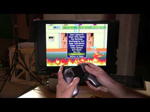 Run MAME natively on the Ouya - Retro arcade game emulation comes to the console