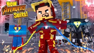 Minecraft Adventure - NEW INFINITY WAR SUPERHERO SUITS!!