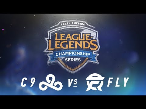C9 vs. FLY - Week 9 Day 2 | NA LCS Spring Split | Cloud9 vs. FlyQuest (2018)