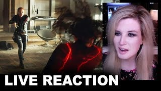 Black Widow Special Look REACTION