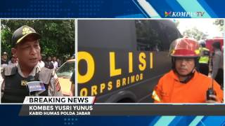 Letupan, berbalas tembakan di Bandung