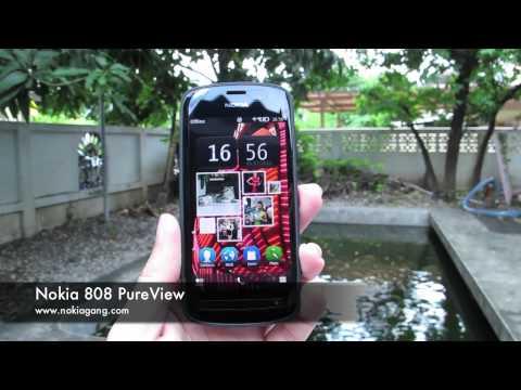 พรีวิวตัวเครื่อง Nokia 808 PureView