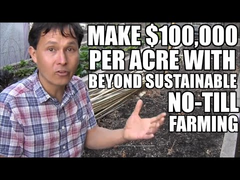 Make $100.000 per Acre with Beyond Sustainable No Till Farming a Year