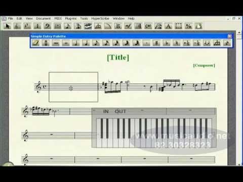 CURSO FINALE - 013 USANDO UM TECLADO MIDI PARA ENTRAR COM AS NOTAS