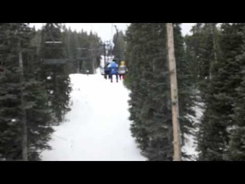 Skiing At Eldora Ski Resort!