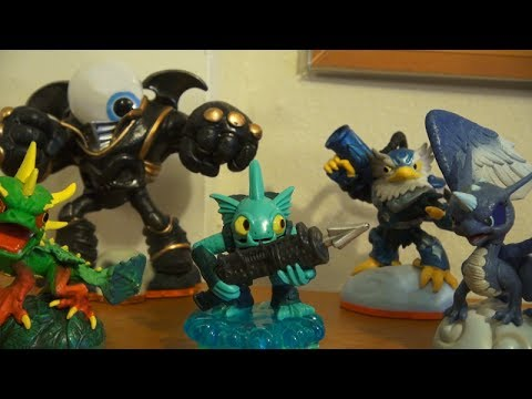 A Skylanders 'Swap Force' Live Action Stop Motion Animated Adventure -  Action Figures