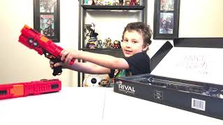 Unboxing deadpool Nerf Rival