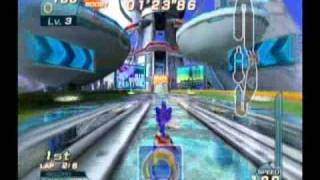 Sonic Riders - Metal City (Sonic - Blue Star)