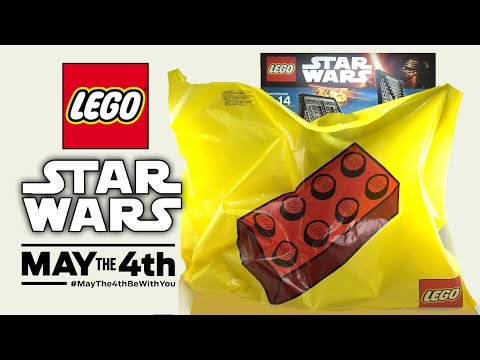 Awesome LEGO Star Wars May the 4th 2016 Mystery Haul!