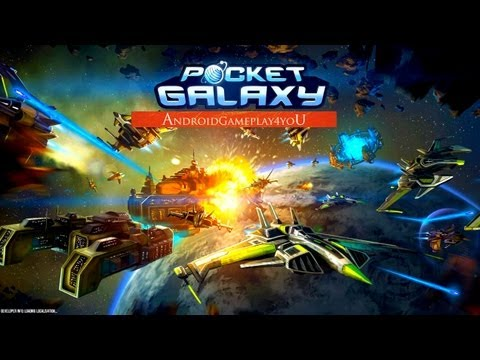 Pocket Galaxy Beta (Space-MMO) Android HD GamePlay Part 1