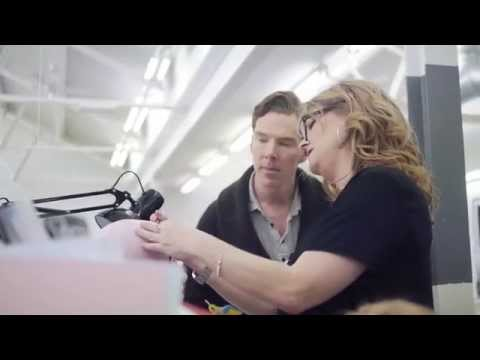 The making of Benedict Cumberbatch's wax figure at Madame Tussauds London