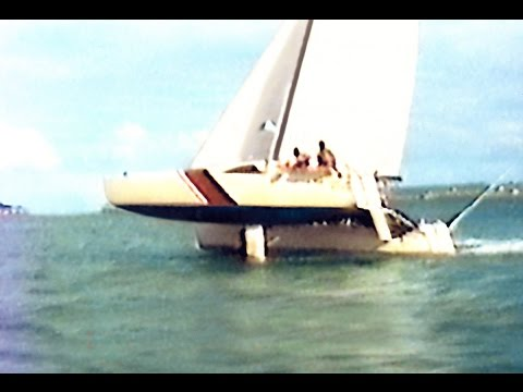 Botany Bay to Broughton Island on GBE 28 Catamaran BOTANY BAY EXPRESS 1989 Part 2