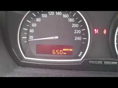Kasowanie Inspekcji BMW X3 Oil Service Indicator Light Reset BMW X3