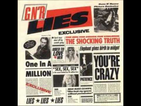 Guns N' Roses - GNR LIES (Full Album)
