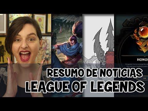 League of Legends - Rework das Runas | Honra e chaves hextec | Patch 7.11