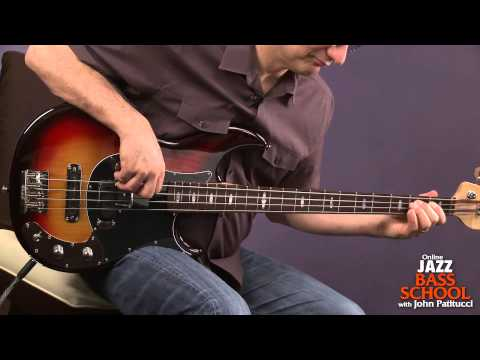 Bass Guitar Lessons With John Patitucci: Blues On The Bottom Play Along video