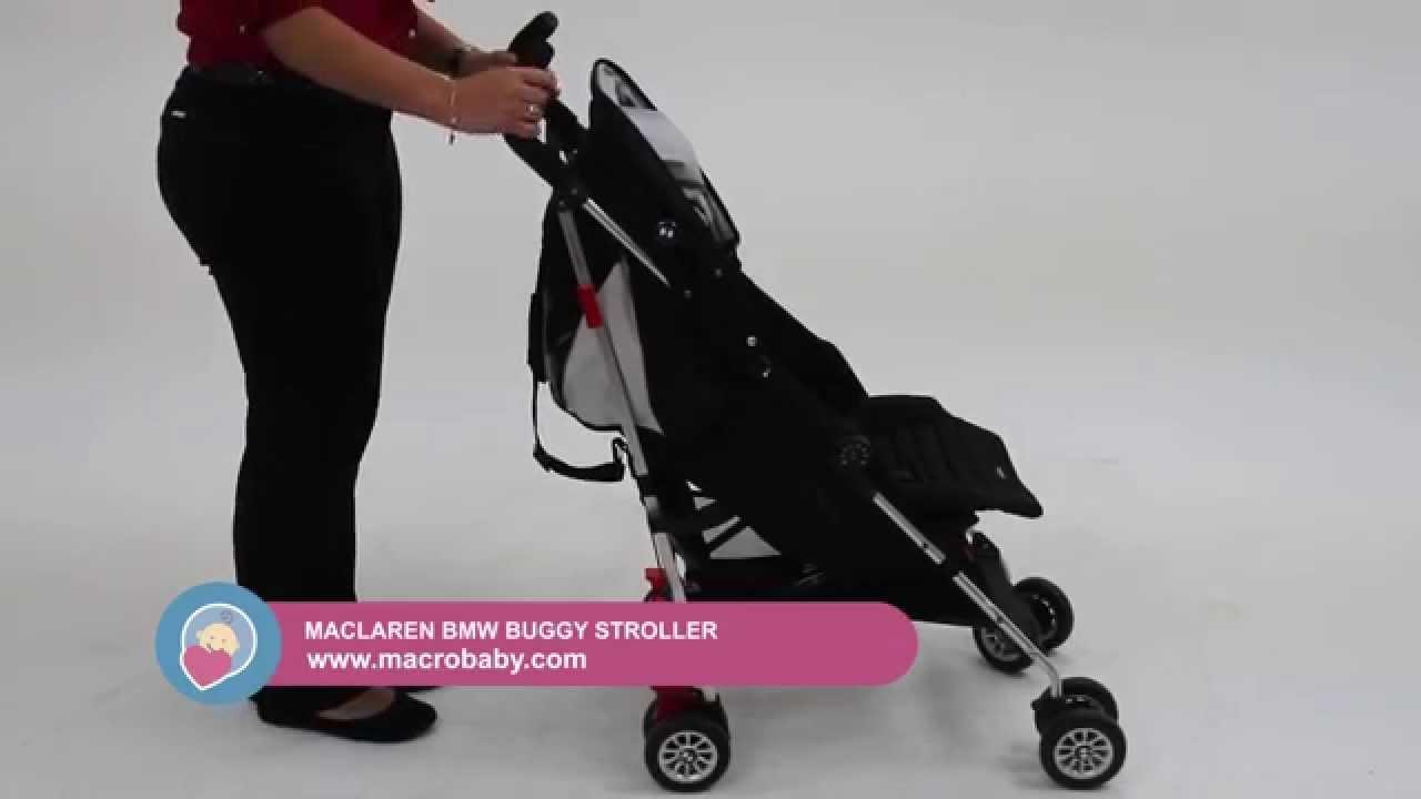 Macrobaby Maclaren Bmw Buggy Stroller Youtube