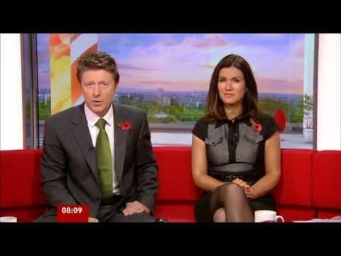 Susanna Reid BBC Breakfast 06-11-2012