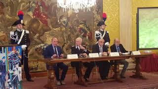 Firma Protocollo d'Intesa tra la Fipsas e l'Arma dei Carabinieri