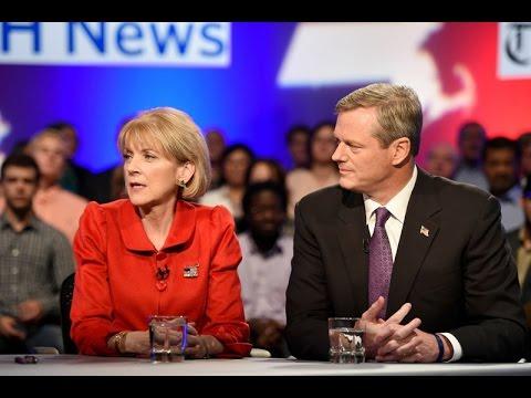 2014 WGBH News/Boston Globe Gubernatorial Debate