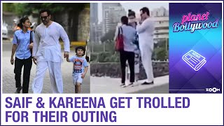 Kareena Kapoor Khan & Saif Ali Khan get TROLLED for their outing with Taimur