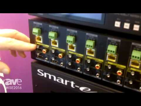 ISE 2016: Smart-e Displays Their Latest Generation of HDMI HDBaseT Matrix Switchers