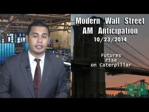 AM Anticipation: Futures rise, Caterpillar rises, & steady jobs data