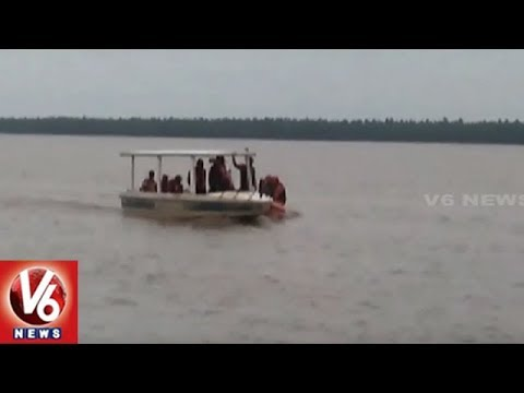 NDRF Continues Search And Rescue Operation To Locate Capsized Boat In East Godavari | V6 News